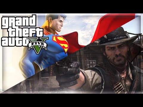 mods - GTA 5 Mods - John Marston Red Dead Redemption Mods / Superman Mod In GTA 5 Online (GTA 5 Mods)