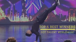 Top 5 Best Winners on Got Talent Worldwide: SUBSCRIBE TO UPDATE NEW VIDEOS: https://goo.gl/N52Tna -----------------------------------------------------------...