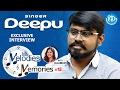 Singer Deepu Exclusive Interview    Melodies And Memories #13