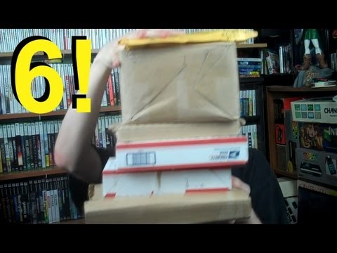 Unboxings - 6 separate packages, one is a trade with doginmylense, one donated by an anonymous YouTuber, one a rare and sought after classic, and....well watch to find o...