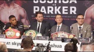 ANTHONY JOSHUA v JOSEPH PARKER FINAL PRESS CONFERENCE