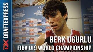 Berk Ugurlu 2015 FIBA U19 World Championship Interview