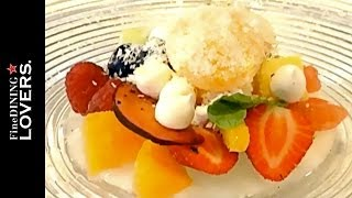 Cold Fusion Dessert S.Pellegrino Liquid Diamonds   Fine Dining Lovers by S.Pellegrino & Acqua Panna