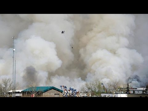 Μαίνεται η πύρινη λαίλαπα στον Καναδά – Δεκάδες χιλιάδες οι εκτοπισμένοι