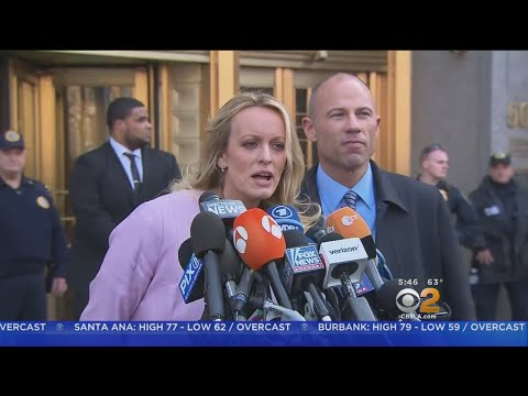 Stormy Daniels, Trump Legal Battle Resumes In LA Courtroom