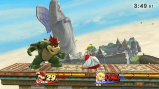 Peach pulls 5 stitch faces in one game(for glory)