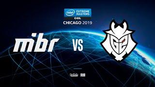 MiBR vs G2 - IEM Chicago 2019 - map2 - de_dust2 [Smile & Anishared]