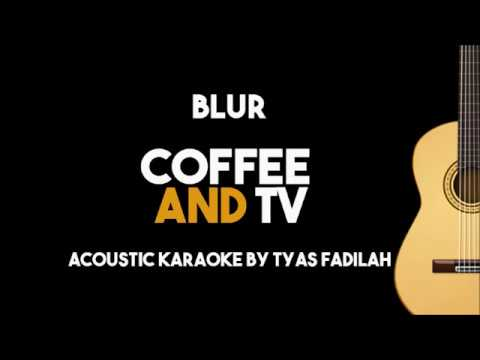 Blur – Coffee and TV (Acoustic Guitar Karaoke Backing Track with Lyrics)