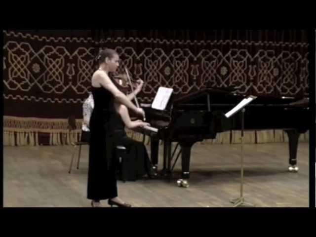 George ENESCU – Konzertstück (Concert piece): Cornelia Petroiu-viola, Ryoko Maebashi-piano