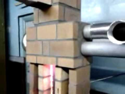 Новая печка на отработке ни грамма
