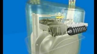 Устройство бытового счетчика газа