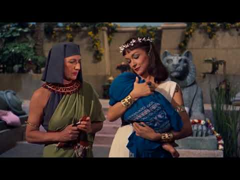 Pharaoh's Daughter Adopts The Baby As Her Own Child - The Ten Commandments 1956