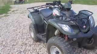 3. Kymco Mxu 250 walkaround and exhaust