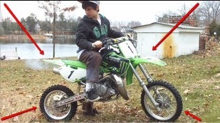 4. KAWASAKI KX 65 & KIDS GONE WILD