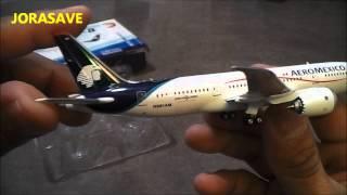 Video Unpacking Phoenix Boeing 787 8 Aeromexico ✈ 1:400 MP3, 3GP, MP4, WEBM, AVI, FLV Juni 2018