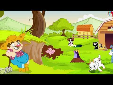Video con canzone Cartone animato NELLA VECCHIA FATTORIA sigla canzone