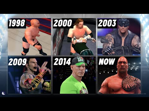 A Visual History of WWE Games on Playstation (1998 - 2017)