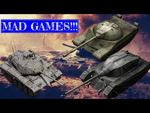 GOING MAD | World Of Tanks Blitz MAD GAMES