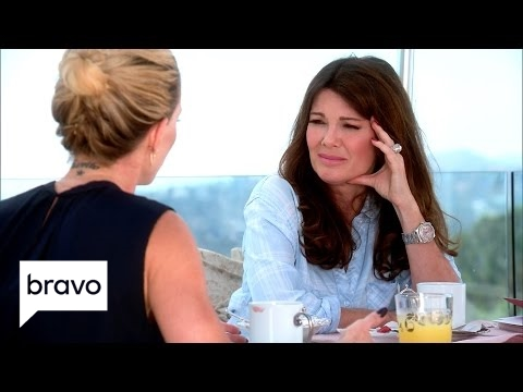 RHOBH: LVP Thinks Rinna Has A Big Mouth (Season 7, Episode 10) | Bravo