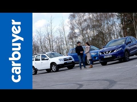 Best 4x4s and SUVs – Nissan Qashqai vs Dacia Duster vs Mazda CX-5 – Carbuyer