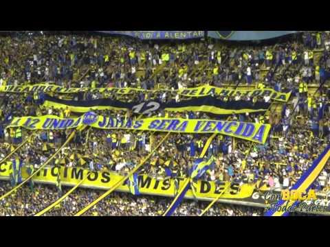 Vamos Boca Juniors que tenes que ganar / BOCA-ZAMORA 2015 - La 12 - Boca Juniors