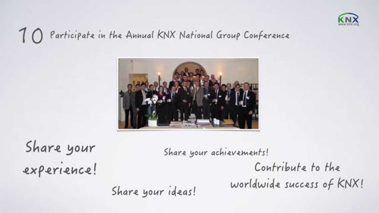 How to become a KNX National Group