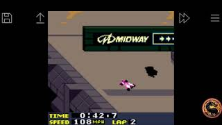 San Francisco Rush 2049: Time Trial [Track 1] (Game Boy Color Emulated) by omargeddon