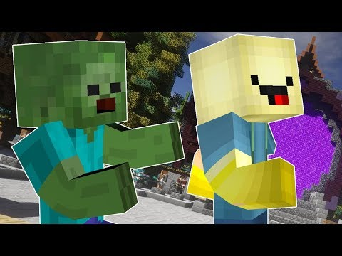 PREHRALI SME! - Minecraft Zombies Minigame