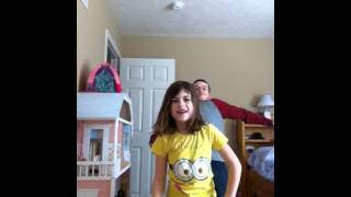 Video Brother catches sister dancing MP3, 3GP, MP4, WEBM, AVI, FLV Agustus 2018
