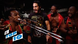 Nonton Top 10 Smackdown Moments  Wwe Top 10  Oct  1  2015 Film Subtitle Indonesia Streaming Movie Download