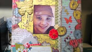 Hi Everyone - here is a 12x12 layout and banner using MME Miss Caroline line. They are Remember When design team projects. Visit my blog at http://evilscrapp...