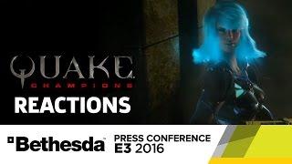 Quake Champions Reactions - E3 2016 GameSpot Post Show by GameSpot