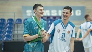Hightlits of the match National league: «Astana»— «Almaty Legion» (Game 2)