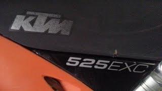 8. KTM 525 EXC Oil Change COMPLETE 2003