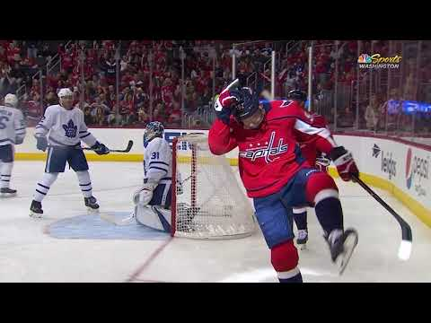 Video: Toronto Maple Leafs vs Washington Capitals | NHL | OCT-13-2018 | 19:00 EST