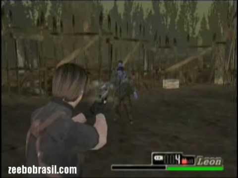 Resident Evil 4 Zeebo Edition - Primeira Fase