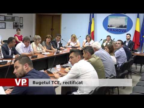 Bugetul TCE, rectificat
