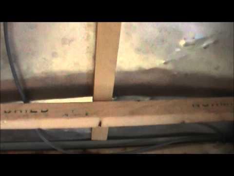 comment reparer une caravane qui a pris l'eau