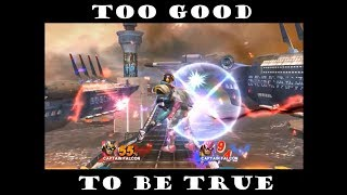 Too Good to be True – A SSB4 Captain Falcon Combo/Montage Video