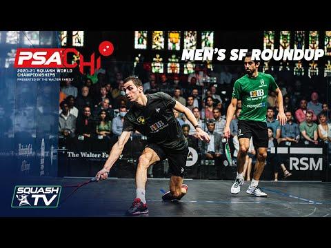 Squash: PSA World Championships 2020-21 - Men's Semi-Finals Roundup