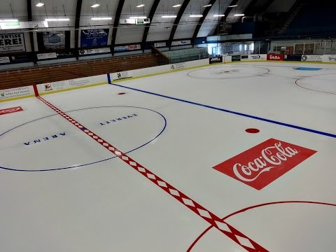 Everett Arena - Ice Preparation