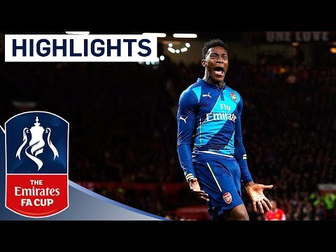 Manchester United 1-2 Arsenal (2015 FA Cup R6) | Goals & Highlights