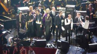 Paul McCartney, Take That, Robbie Williams - Hey Jude- RAH - 12/11/09