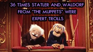 "Video 36 Times Statler And Waldorf From ""The Muppets"" Were Expert Trolls MP3, 3GP, MP4, WEBM, AVI, FLV November 2018"