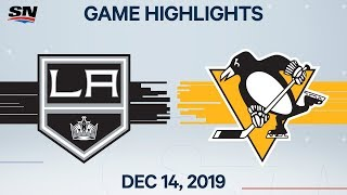 NHL Highlights | Kings vs Penguins – Dec. 14, 2019 by Sportsnet Canada