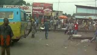 N1 Road to the airport, Kinshasa democratic republic of the Congo.