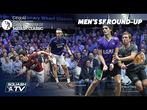 Squash: Canary Wharf Classic 2019 - Semi Final Roundup