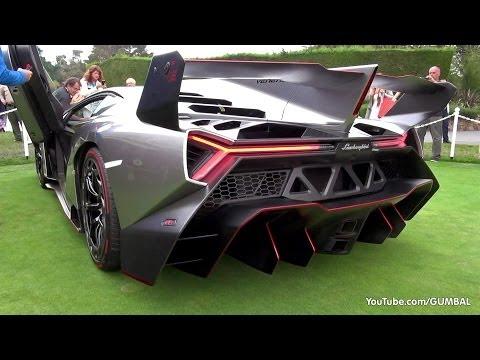 Lamborghini Veneno SOUND! Start Up + Driving On The Road!_A valaha feltöltött legjobb sportkocsi videók