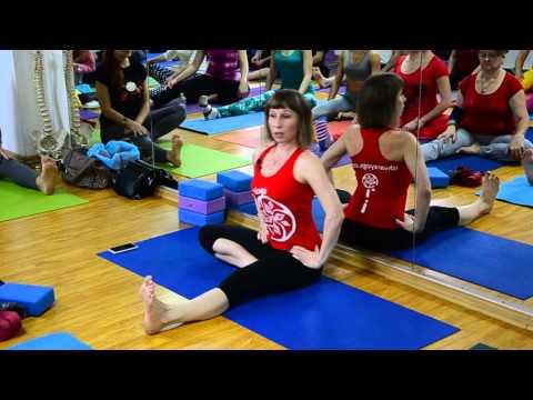Евгения Пришута. Работа с тазобедренными суставами. 2 часть