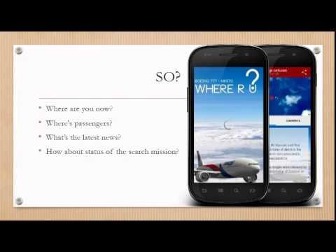 Video of Missing Malaysia Flight | News